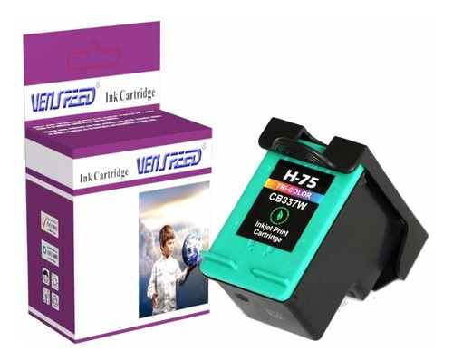 Cartucho Compatible Hp 75 Xl Color