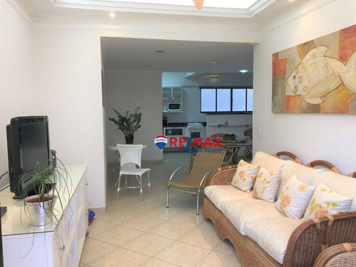 Imagem 1 de 30 de Apartamento Com 03 Dormitórios À Venda, 136 M² Na Barra Funda - Guarujá/sp - Ap3320
