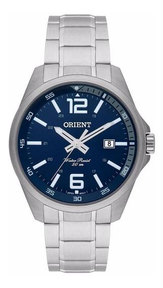 Relógio Orient Mbss1275 D2sx Masc/prateado Nf Original Novo