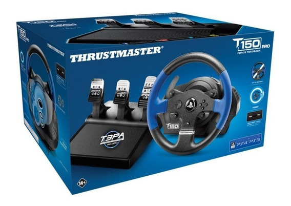 Volante Thrustmaster T150 Force Feedback Para Ps4 E Ps3
