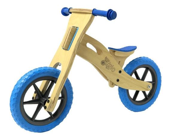 Bicicleta De Madera De Inicio Sin Pedales Gio 2 A 5 Años