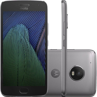 Smartphone Motorola Moto G5 Plus Xt1680 Tela 5.2 32gb 12mp/