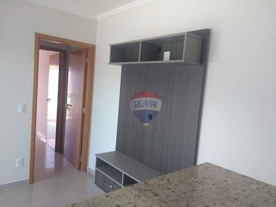 Apartamento Com 1 Dormitório À Venda, 40 M² Por R$ 215.000 - Vila São Lúcio - Botucatu/sp - Ap0428