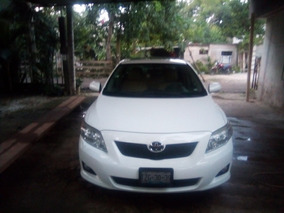 Toyota Corolla 1.8 Xle W/moonroof Aa Ee Cd R-16 Abs At 2010
