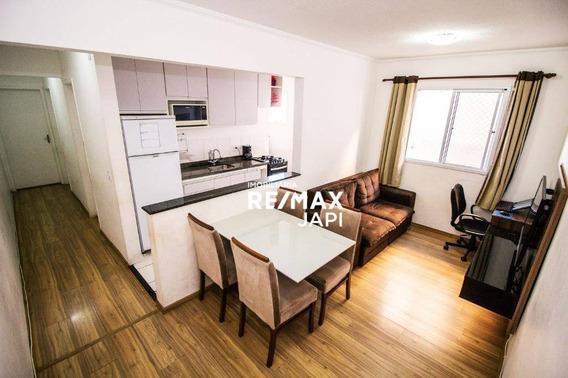 Apartamento Com 2 Dormitórios À Venda, 49 M² Por R$ 178.000,00 - Distrito Industrial - Jundiaí/sp - Ap3843