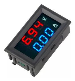 Voltímetro Amperímetro Digital 100v 10a Para Painel Fonte