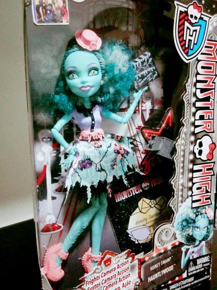 Boneca Monster High Monstros, Câmera, Ação Honey Swamp Matte
