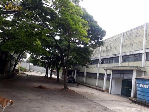 Imagem 1 de 6 de Galpão Em Industrial Anhangüera  -  Osasco - 41299