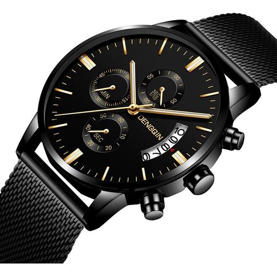 2019 Relógio Masculino Relógios Homens Caixa De Aço Inoxidáv