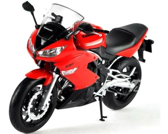 Moto Kawasaki Ninja 650 R Escala 1:10 Welly