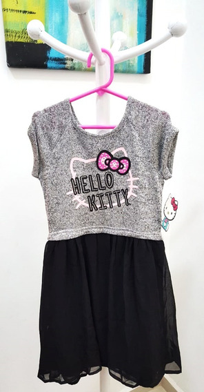 Vestido Hello Kitty Niña Talla 6 // C7