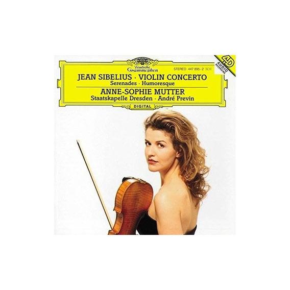 Sibelius/mutter/previn/staatskapelle Dresden Violin Concerto