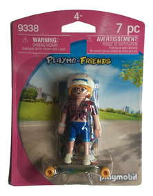 Playmobil 9338 Menina Skatista - Playmo-friends