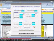 Macros Excel Automatizada Escenarios Inversión Edificios