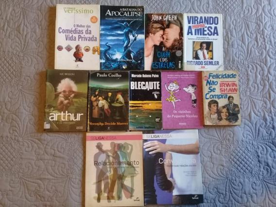 3 Livros 25 Reais Ou 15 Reais Cada