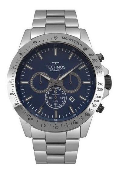 Relógio Technos Masculino Classic Ceramic Js25bt /4a