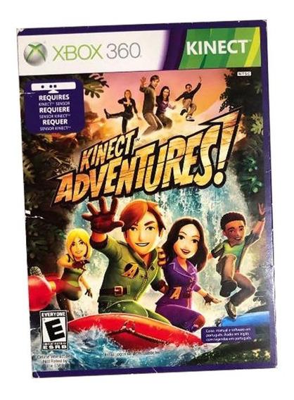 Kinect Adventures Xbox 360 Mídia Física