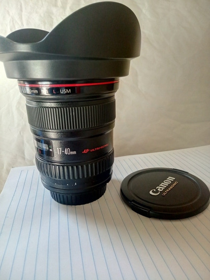 Objetiva Canon 17 40mm F4 L Usm