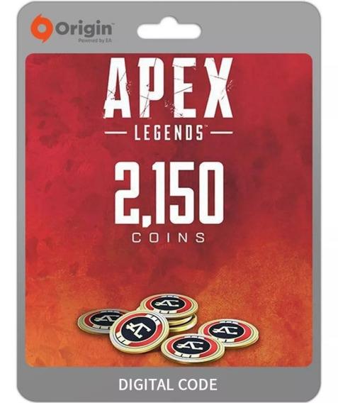 Apex Legends 2150 Apex Coins Origin Pc Key