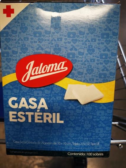 Gasa Esteril Jaloma, En Paquetes Individuales, 100 Sobres