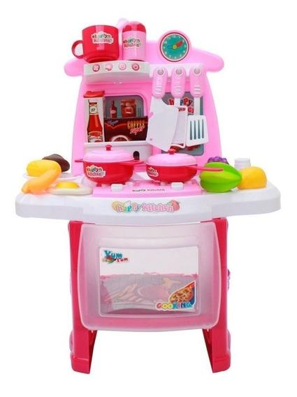 Kit Cozinha Infantil Completa Fogão Forno E Pia Bw034