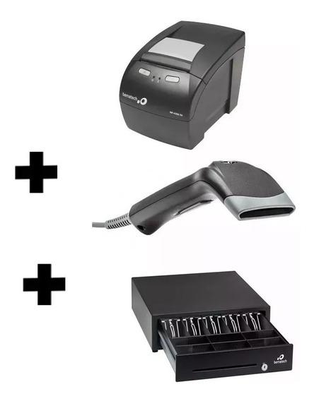 Kit Automação Comercial Bematech Leitor + Impressora