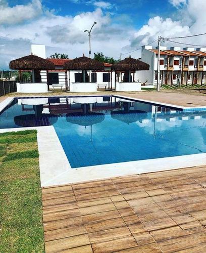 Imagem 1 de 15 de Casas Duplex Novas, Marechal Deodoro 2 E 3 Quartos, Lazer Completo A Partir De 185mil - 842