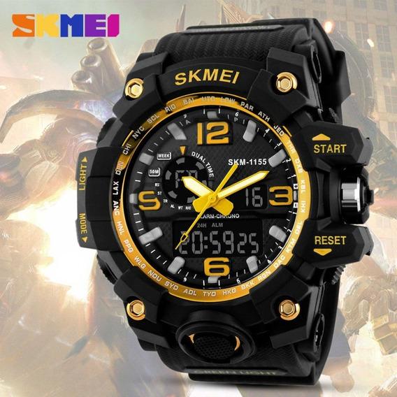 Relógio Skmei Masculino 1155 Esportivo A Prova D