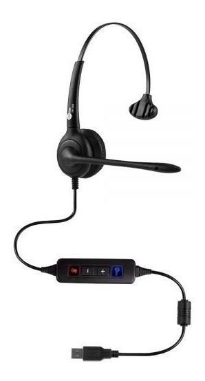 Headset Top Use Fp-350 Usb Com Cancelador De Ruído