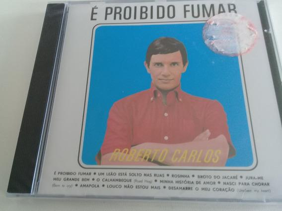 Roberto Carlos, Cd É Proibido Fumar, 1964, Novo Lacrado.