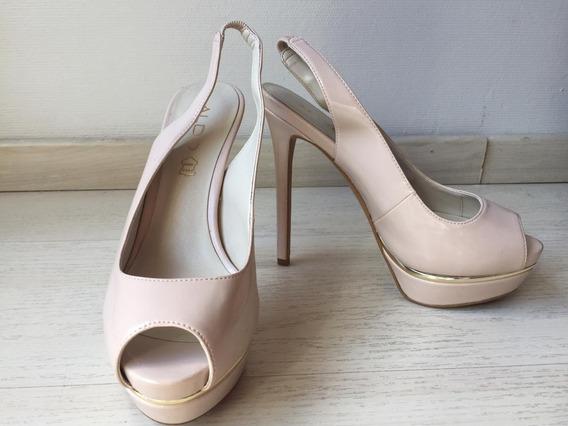Zapatos Mujer Aldo Stiletto Beige De Fiesta