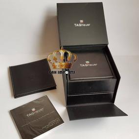 2x Caixas Para Relógio Tag Heuer Box Estojo Completo