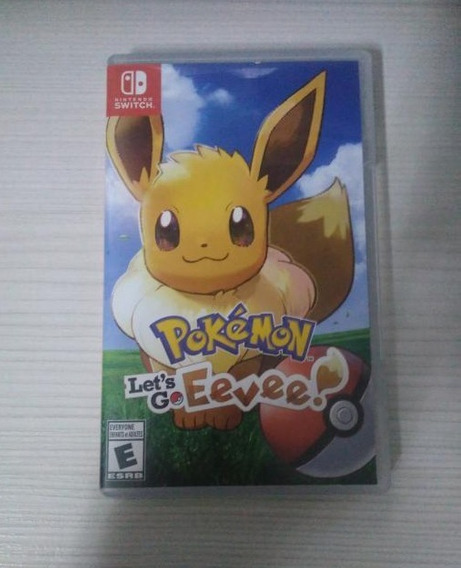 Pokemon Lets Go Eevee Switch Mídia Física
