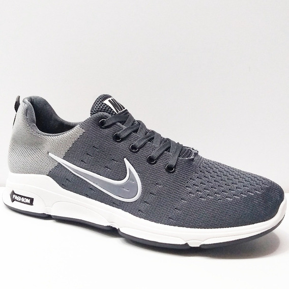 Zapatos Deportivo Nike Air Fashion Zoom Caballeros Bingo Hi