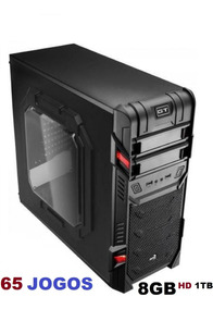 Cpu Gamer A4 6300 3.7 Ghz 8gb Gta V 65 Jogos C/gravador Dvd