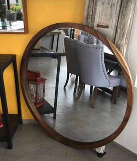 Espejo Parota Redondo