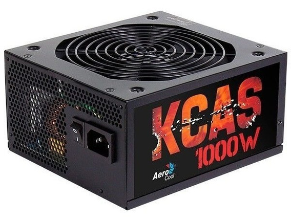 Fonte Aerocool Kcas 1000w Bronze Modular Full Range 80 Plus