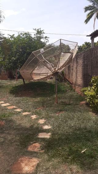 Antena Parabolica Sta. Rita. Funcionando, Conversor Opcional