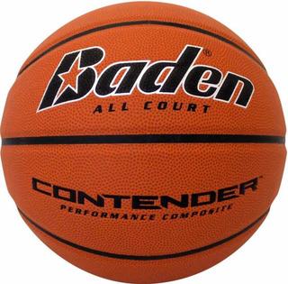 Balón Basket Baden Goma Profesional Número 7 Kt 39