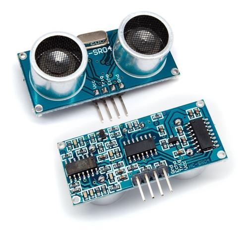 Sensor Ultrasonico Hc-sr04  + Código De Prog. Para Arduino