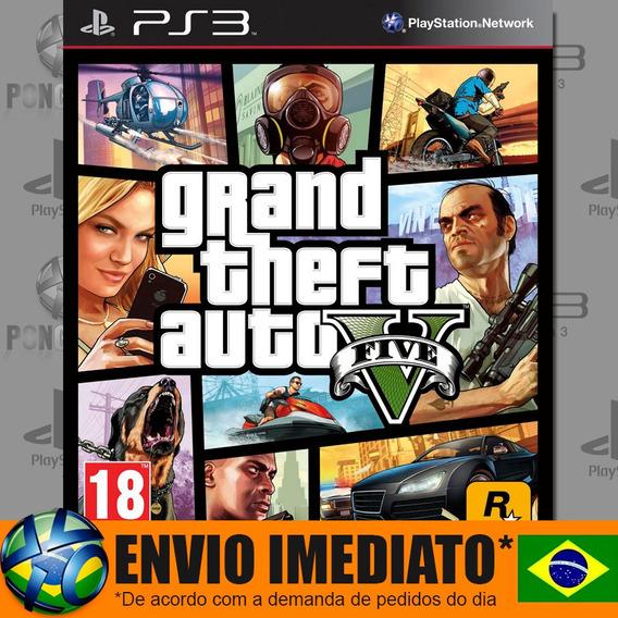 Jogo Ps3 Gta V Psn Play 3 Gta 5 Legendado Português Envio Hoje