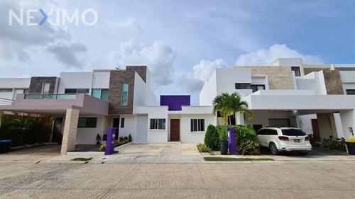 Imagen 1 de 25 de Casa En Venta En Residencial Aqua, Benito Juarez, Cancún, Quintana Roo