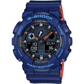 Relógio G-shock Ga-100l-2adr Original E Garantia Nf