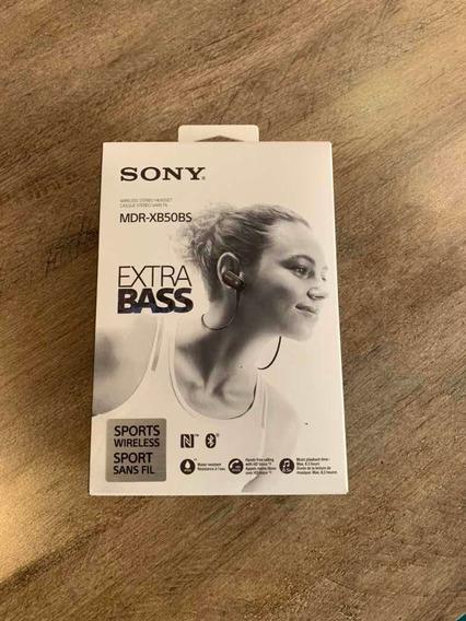 Fone Bluetooth (sem Fio) Sony Mdr-xb50bs