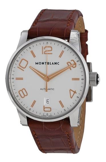 Relógio Montblanc 105813 Timewalker Automatico Original