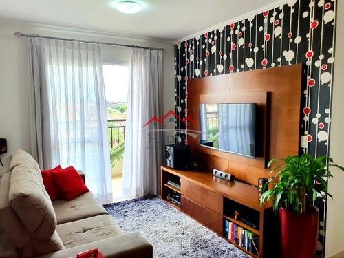 Apartamento A Venda Residencial Ravenna - Engordadouro, Jundiaí - Sp - Ap00201 - 69278489
