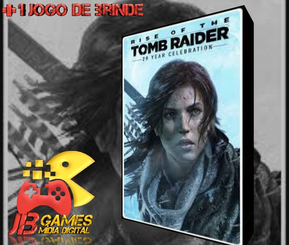 Rise Of The Tomb Raider: Aniversário De 20 Xbox One + Brinde