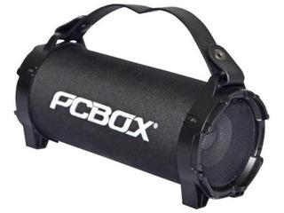 Parlante Portatil Bluetooth Estereo Con Radio Usb Y Tarjeta