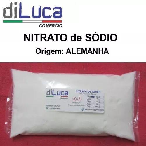 Nitrato Sódio Puro Alemanha 3kg + Cloreto Magnesio Pa 2kg