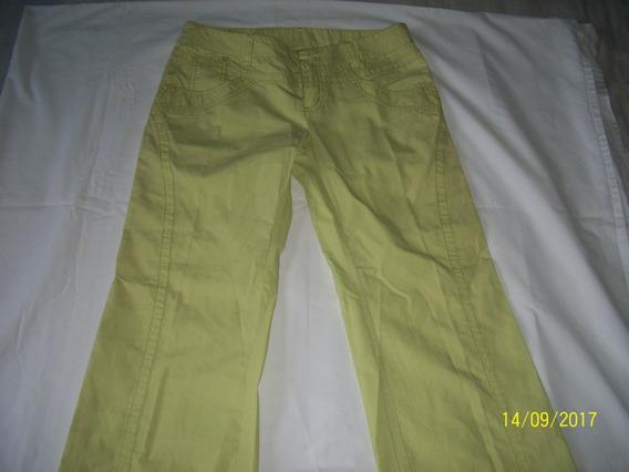 Pantalon De Dama Verde Lima Marca Abyssal Collection